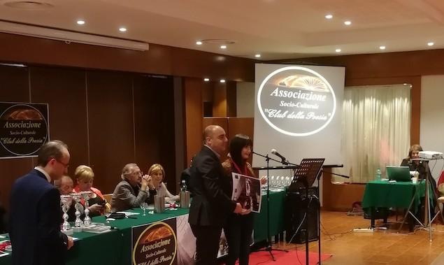 Club della poesia, premiata la lametina Simona Barba Castagnaro