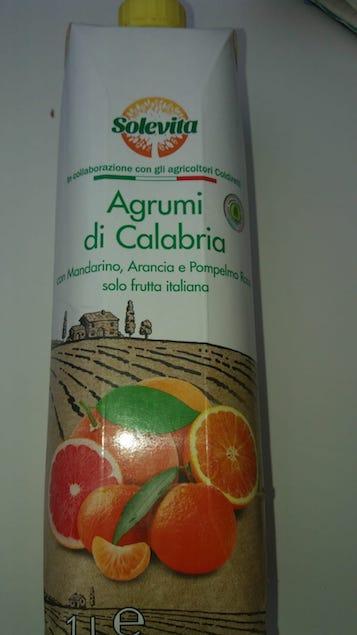 Il succo degli agrumi calabresi in vendita alla lidl