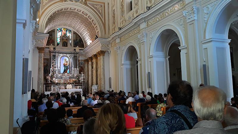 Conflenti, migliaia di fedeli all'elevazione a basilica minore del Santuario di Visora