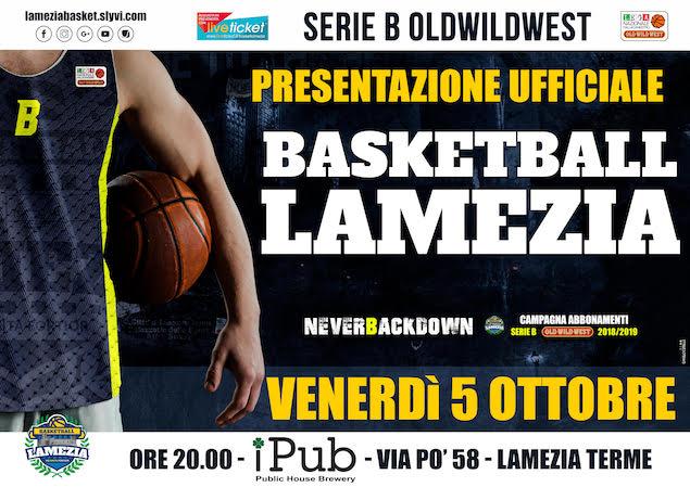 presentazione ufficiale basketball lamezia