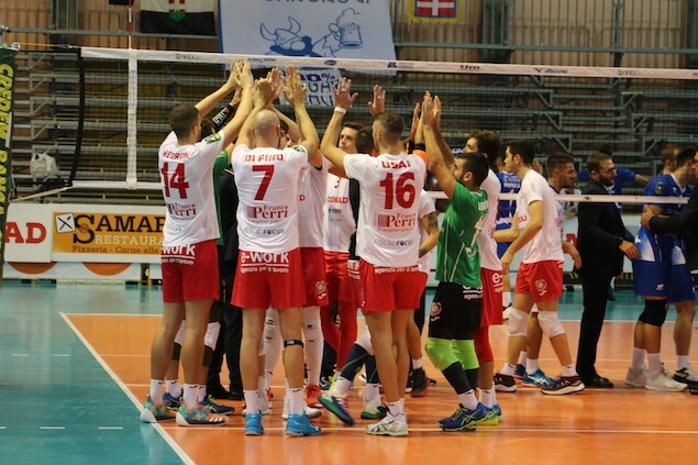 top volley lamezia potenza picena