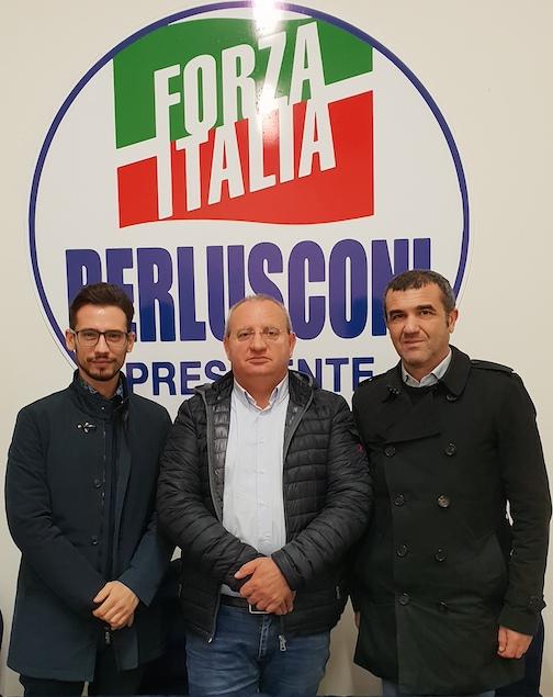 Francesco De Sarro, Franco Mastroianni e Giuseppe Spinelli
