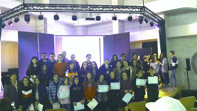 Consegna diplomi linguistici IC Perri Pitagora