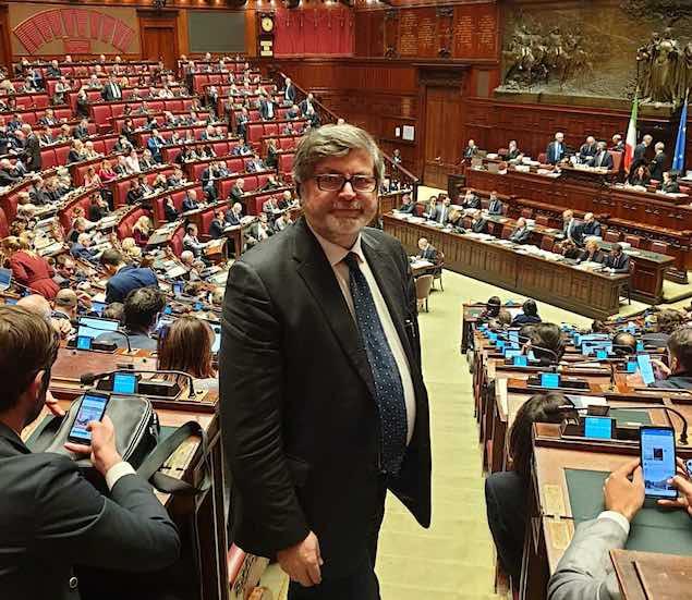 Deputato Giuseppe d'Ippolito alla Camera