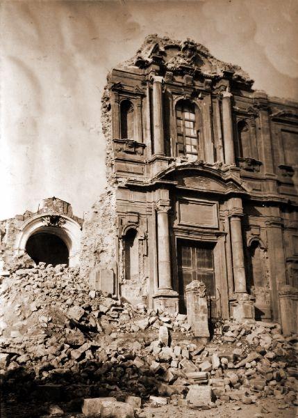 Immagini del terremoto di Messina e Reggio Calabria 1908