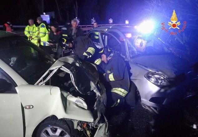 Incidente stradale sulla SS106 a Copanello, tre donne ferite