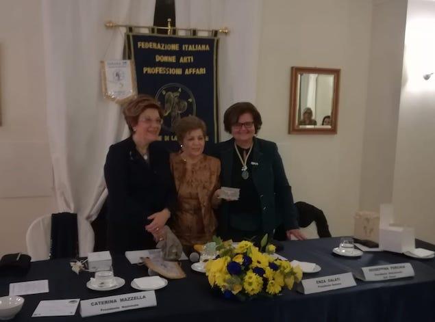 Fidapa Lamezia: la 'Cerimonia delle Candele' saluta l'ingresso di tre nuove socie