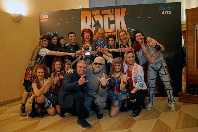 We will rock you - premio gruppo