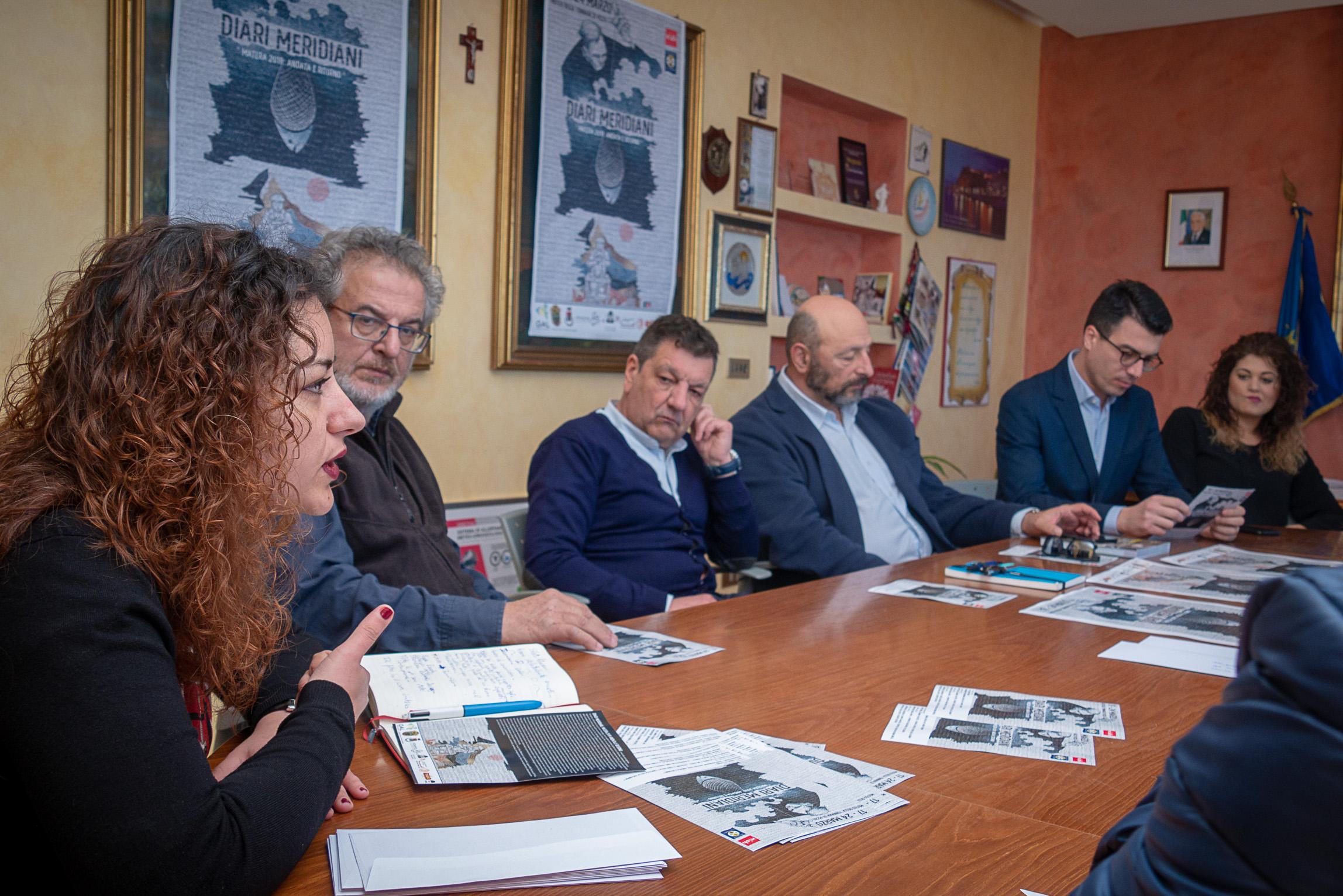 Diari Meridiani, Erica Tuselli, Antonio La Gamba, Ivano Tuselli, Eugenio Attanasio, Gianluca Callipo e Sharon Fanello