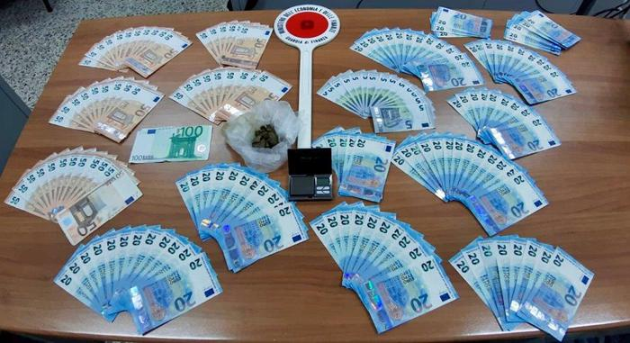 Pregiudicato trovato in possesso di banconote false-LameziaTermeit
