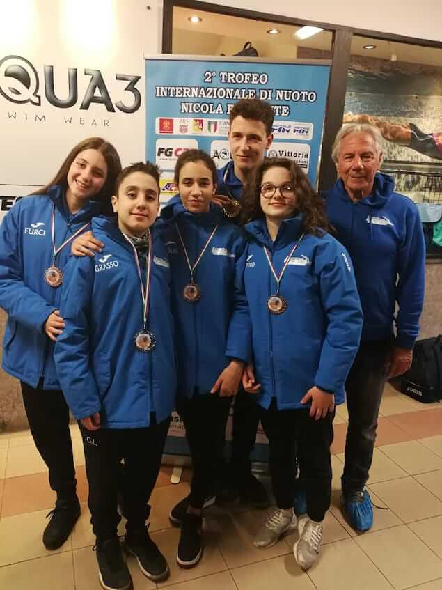 Quattro medaglie per la Arvalia Lamezia al 2° Trofeo Nicola Ferrante