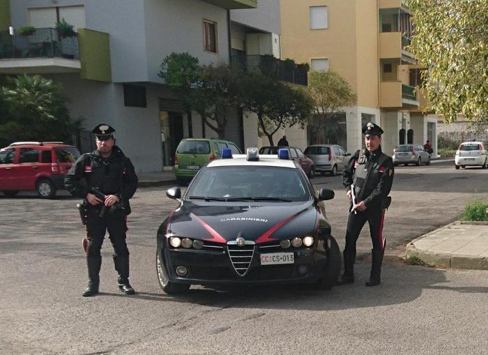 Carabinieri Corigliano Rossano