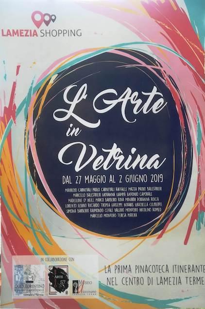 Arte in Vetrina. Mostra itinerante degli artisti lametini