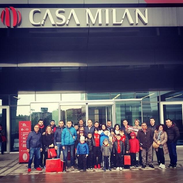 L'Adelaide Lamezia visita Casa Milan e lo stadio di San Siro