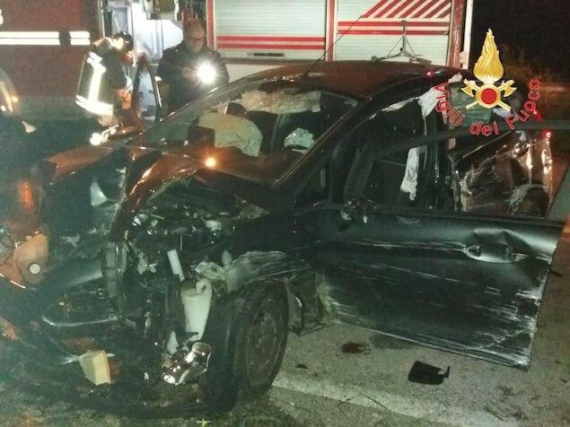 Cortale (CZ). Incidente stradale sulla SP 162/2, grave un uomo