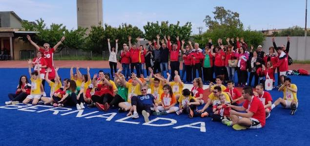 La Lucky Friends Lamezia trionfa ai Play the games Special Olympics