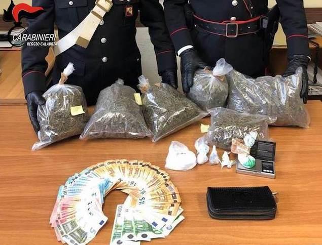 Reggio Calabria. Nascondeva droga in cantina, arrestato