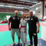 Chiara Castiello con il padre ed Enzo Torcasio Enzo Torcasio