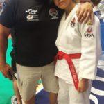 Chiara Castiello con il padre