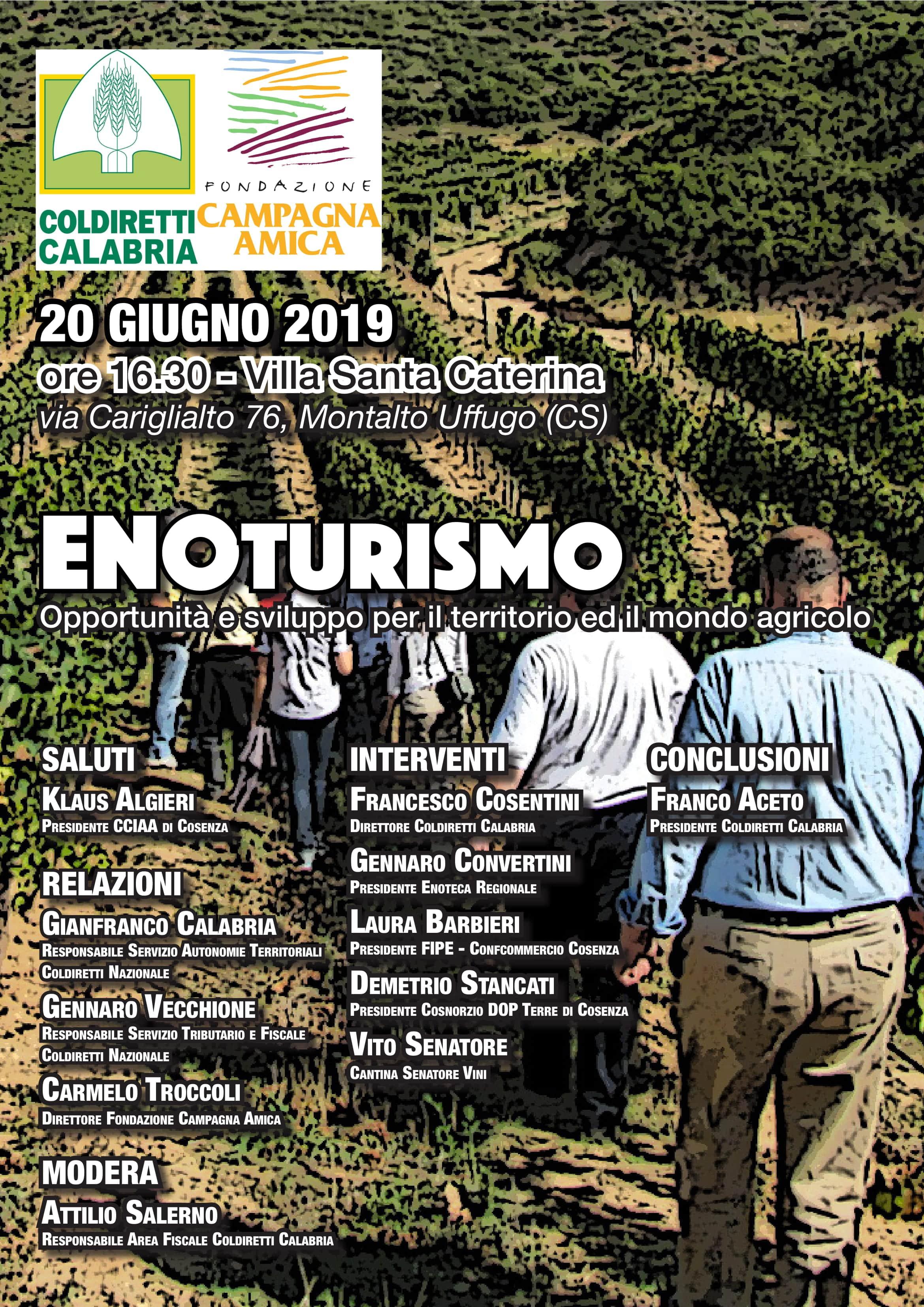 seminario a Montalto Uffugo sull'enoturismo-LameziaTermeit