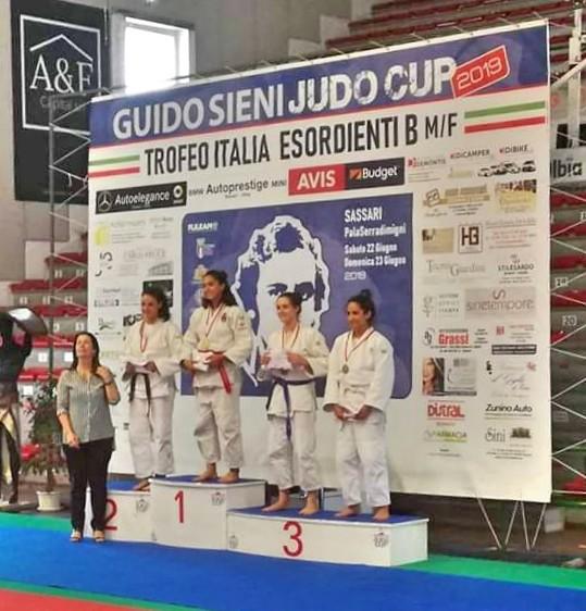 La lametina Chiara Castiello oro al Guido Sieni Judo Cup