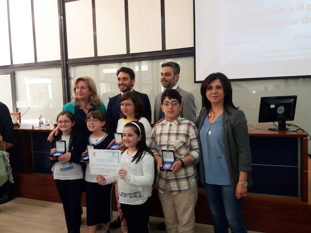 Terzo posto al concorso La Calabria patrimonio da studiare per l'Istituto Gatti