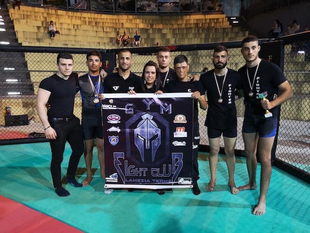 Il Fight Club Lamezia Terme sul podio a Cosenza