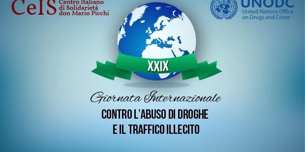 In piazza per la giornata contro l'abuso ed il traffico illecito di stupefacenti
