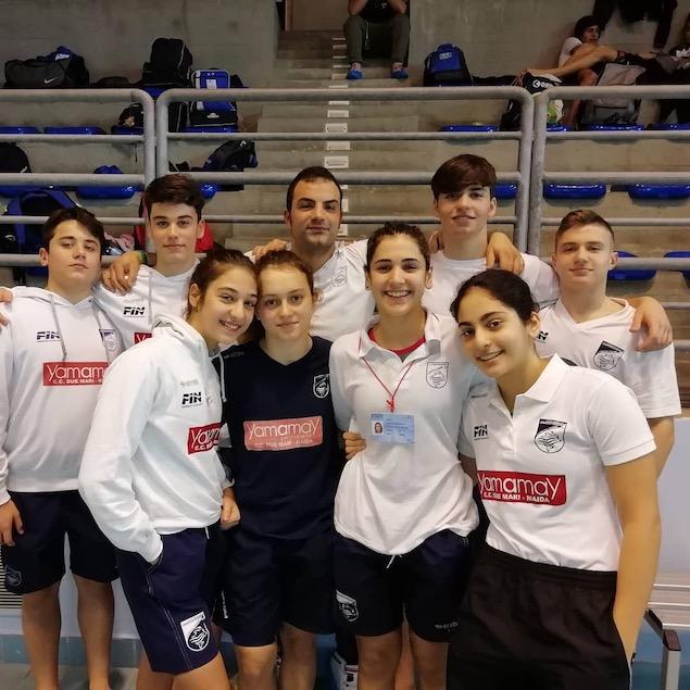 Nuoto, la Rari Nantes Lamezia ottiene i pass per i Campionati Italiani