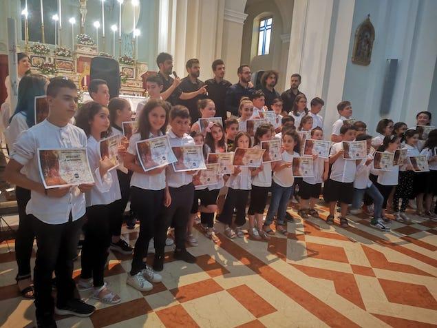 Prima esibizione in Calabria di un'orchestra formata da bambini