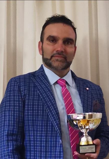 All'artista Raffaele Mazza la medaglia giubilare dell'ordine di San Giorgio