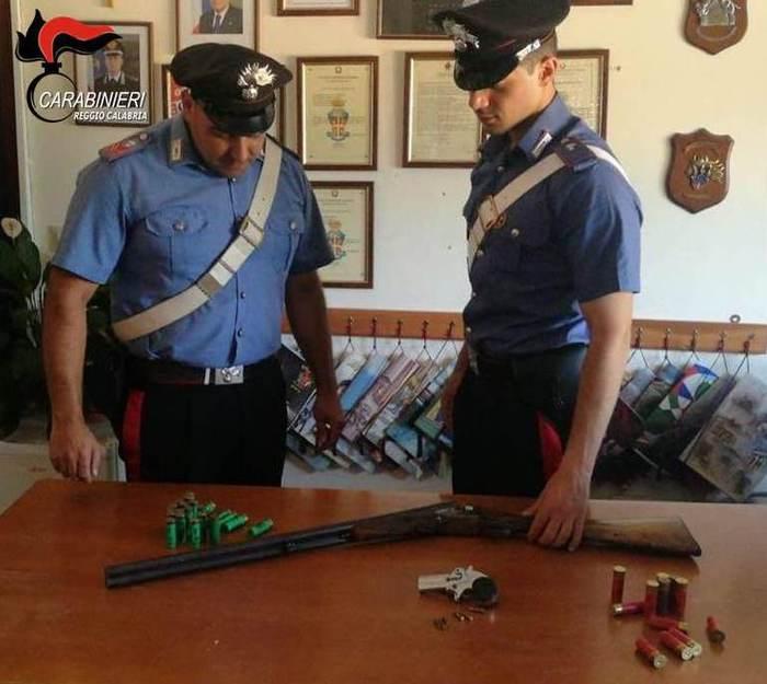 Cittanova (RC). Armi in casa senza permesso, arrestato