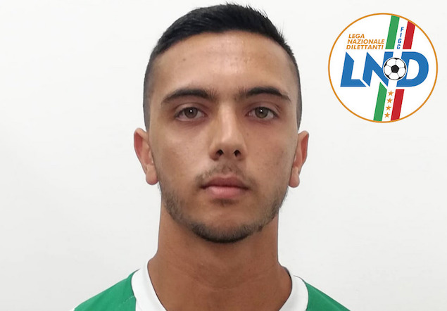 Giuseppe Ombrella nuovo difensore della Vigor Lamezia Calcio 1919