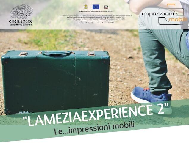 """Impressioni Mobili, sabato l'inaugurazione di """"Lamezia Experience 2"""""""
