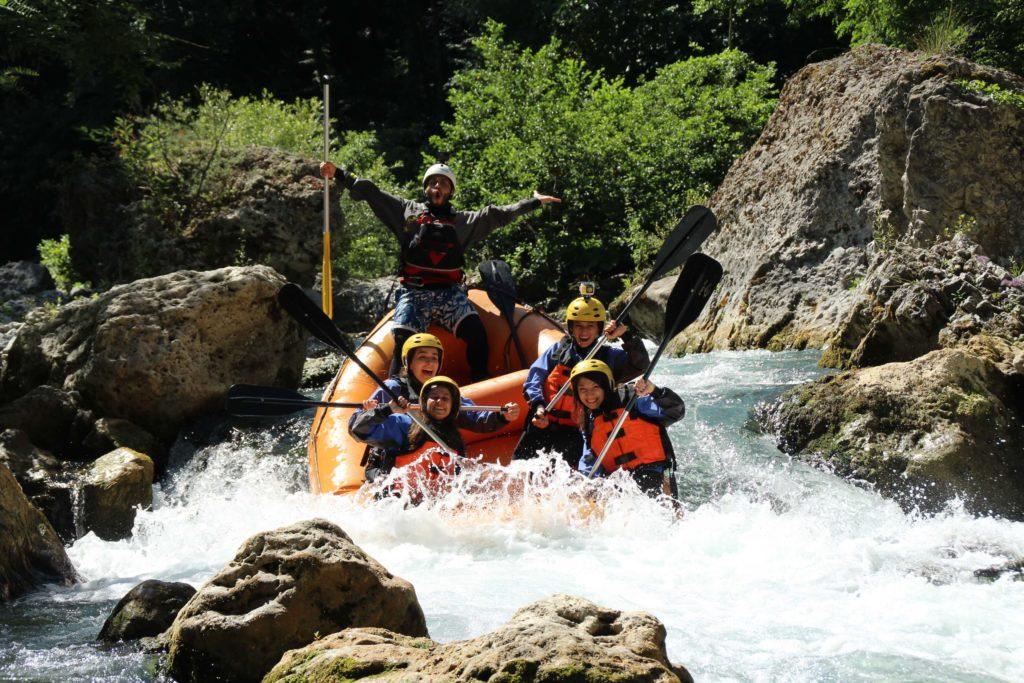 Calabria da riscoprire rafting Le gole del Lao Foto Marco Laino