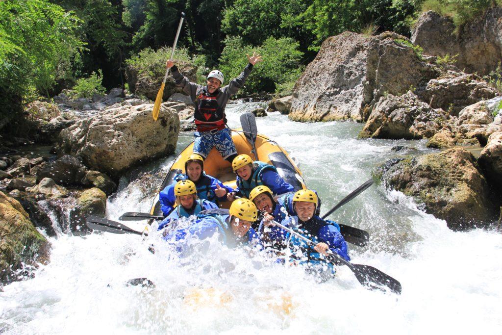 rafting gole del Lao Foto Marco Laino
