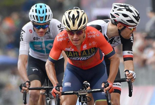 Il ciclista Pozzovivo investito a Laurignano, fratture agli arti