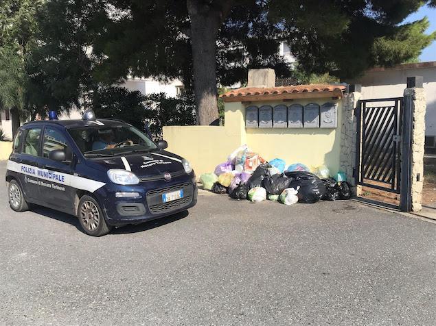 Nocera Terinese. Pesanti sanzioni per chi abbandona i rifiuti violando la legge