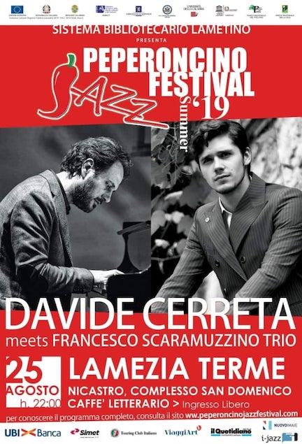 Il Peperoncino Jazz Festival 2019 fa tappa nel Chiostro Caffè Letterario