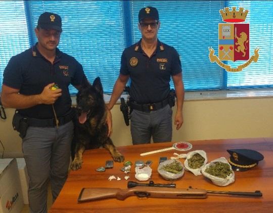 polizia cane floyd