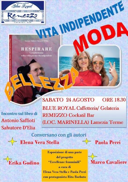 """Lamezia. Sabato 24 agosto """"Respirare"""" con Saffioti e D'Elia"""