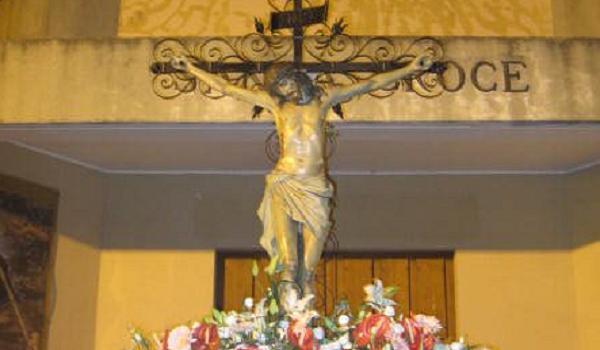 Il Crocifisso della Santa Croce a Catanzaro