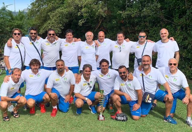 Calcio over 40. La sezione di Lamezia conquista il titolo nazionale UNVS