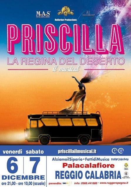 """A Reggio lo straordinario Musical """"Priscilla la Regina del Deserto"""""""