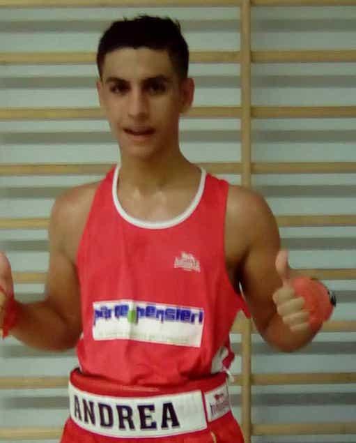Il lametino Andrea Fazio campione regionale di pugilato juniores