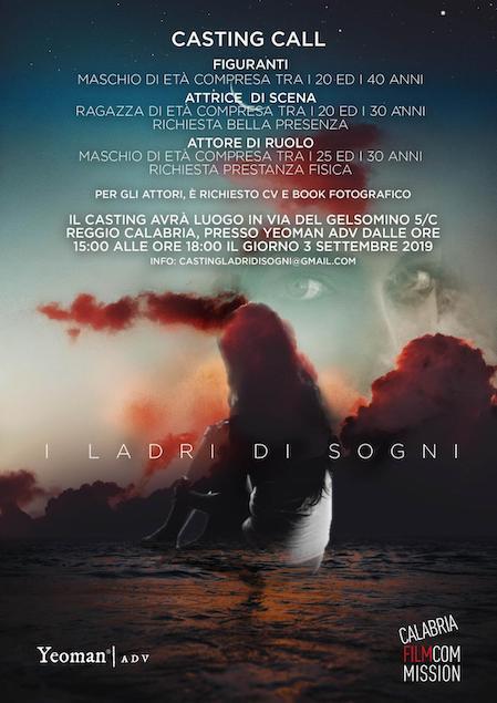 """Casting per il corto """"I ladri di sogni"""" con la regia di Maurizio Vittoriosi"""