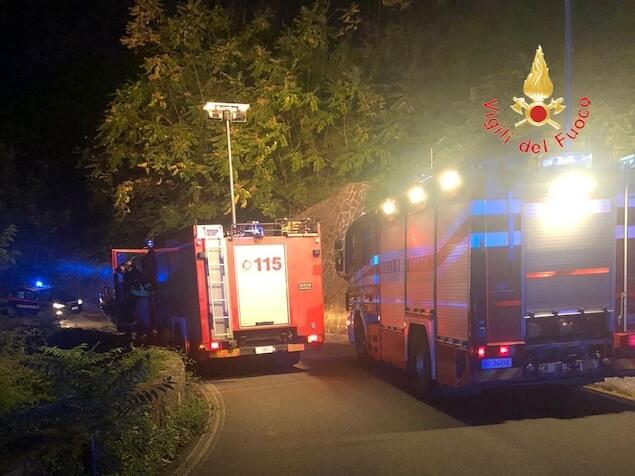 Girifalco (CZ). incidente stradale nella notte sulla SP181, quattro feriti