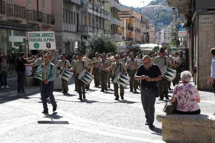 Concluso raduno alpini sud a Cosenza, tre giorni di festa