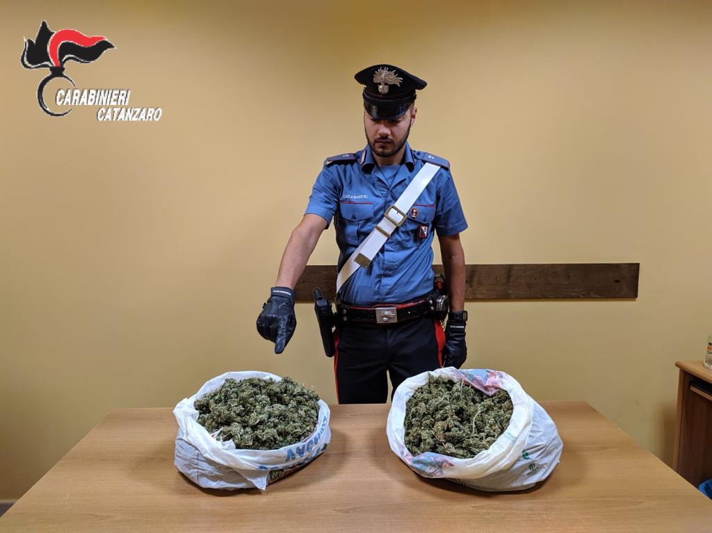 Guardavalle (CZ). In viaggio con due chili di droga: arrestato 26enne