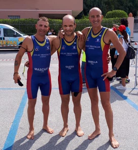 Il Trio lametino Isabella-Guzzo-Mascaro si fa valere al triathlon di Palmi